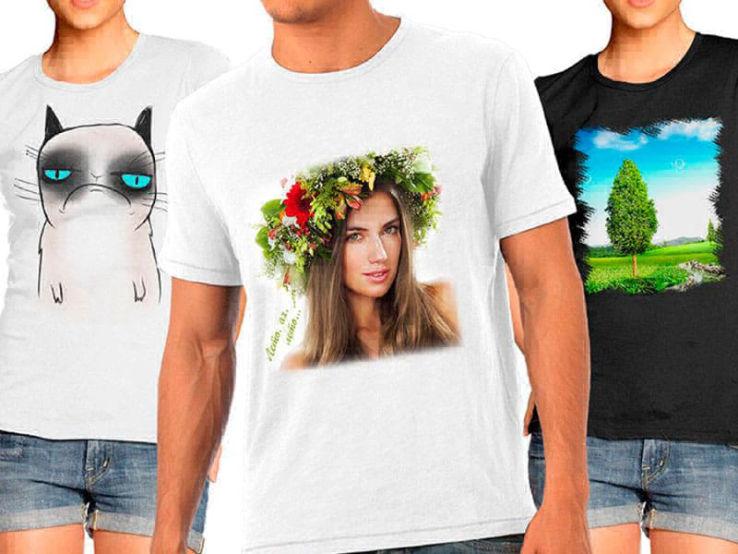 подготовки печать фото на футболках иркутск основу